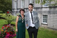 Press Eye - Belfast - Northern Ireland - 8th September 2018 - . Conor Murray and Julie Flaherty at the Archbishop's Palace in Armagh along with friends and family of Dr Rory Best OBE to witness the sportsman's conferment with the Freedom of the Borough of Armagh City, Banbridge and Craigavon..  . Photo by Kelvin Boyes / Press Eye..