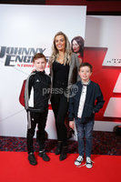 Press Eye - Belfast - Northern Ireland - 30th September 2018 - . Anthony McAllister, Orlaith McAllister and Eamonn McIvor  pictured at Movie House Dublin Road for a special preview screening of upcoming comedy, JOHNNY ENGLISH STRIKES AGAIN, in cinemas across Northern Ireland from Friday 5th October.. Photo by Kelvin Boyes / Press Eye..