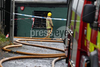 Press Eye - West Belfast Fire - 3rd November 2019. Photograph by Declan Roughan. An early morning blaze that