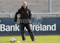 ©Press Eye Ltd Northern Ireland -26th April 2012. Mandatory Credit - Picture by Darren Kidd/Presseye.com .  Ulster training at Ravenhill ahead of Saturday's Heineken Cup semi final against Edinburgh at the Aviva Stadium in Dublin.. Ulster coach Brian McLaughlin