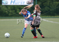 PressEye-Northern Ireland- 30th May  2018-Picture by Brian Little/ Press Eye. Glentoran Women against Linfield Ladies FC during Wednesday evening NIFL Women\'s Premiership League Cup semi final  played at Ashfield Boys School.            . Picture by Brian Little/Press Eye