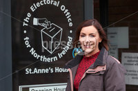 Press Eye - Alliance Party - Electoral Office NI - 12th November 2019. Photograph by Declan Roughan. Donna Marie Higgins.