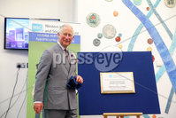 Press Eye - Belfast - Northern Ireland - 13th June 2018 - . The Prince of Wales has visited the Omagh Hospital and Community Care Complex in County Tyrone. His two-day visit to Northern Ireland began in Belfast earlier on Tuesday. The Omagh Hospital and Primary Care Complex opened to patients on 20 June 2017 and provides a range of hospital and community healthcare services together in one place. It ushered in a new era of joined up health care provision in the district.  It replaces the 118-year-old Tyrone County Hospital and investment in new equipment and technologies have improved patient care. The new hospital in Omagh has a 24-hour Urgent Care and Treatment Centre which provides cardiac assessment, a treatment room, x-ray and scans.. The Prince of Wales is pictured meeting staff at the hospital..  . Photo by Kelvin Boyes / Press Eye..