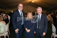 Press Eye - Belfast - Northern Ireland - 8th September 2018 - . Roger Wilson, Tracey Wilson and John McGrillen pictured  at the Archbishop's Palace in Armagh along with friends and family of Dr Rory Best OBE to witness the sportsman's conferment with the Freedom of the Borough of Armagh City, Banbridge and Craigavon..  . Photo by Kelvin Boyes / Press Eye..