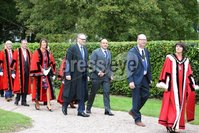 Press Eye - Belfast - Northern Ireland - 8th September 2018 - . Rory Best pictured with councillors at the Archbishop's Palace in Armagh along with friends and family of Dr Rory Best OBE to witness the sportsman's conferment with the Freedom of the Borough of Armagh City, Banbridge and Craigavon..  . Photo by Kelvin Boyes / Press Eye..