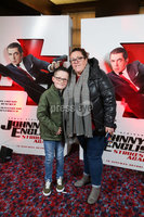 Press Eye - Belfast - Northern Ireland - 30th September 2018 - . Calum McKay and Alison McKay pictured at Movie House Dublin Road for a special preview screening of upcoming comedy, JOHNNY ENGLISH STRIKES AGAIN, in cinemas across Northern Ireland from Friday 5th October.. Photo by Kelvin Boyes / Press Eye..