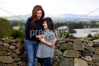Press Eye - Belfast -  Northern Ireland - 18th May 2018 - Photo by William Cherry/Presseye. Charlotte Caldwell and her 12 year old son Billy. pictured at their Castlederg home in Co Tyrone.. Last year Billy became the first in the UK to get legally-prescribed cannabis oil on the NHS for his severe epilepsy.
