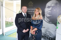 Press Eye - Belfast - Northern Ireland - 8th September 2018 - . Aaron and Jenna Whiteman pictured at the Archbishop's Palace in Armagh along with friends and family of Dr Rory Best OBE to witness the sportsman's conferment with the Freedom of the Borough of Armagh City, Banbridge and Craigavon..  . Photo by Kelvin Boyes / Press Eye..