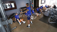 Press Eye - Belfast -  Northern Ireland - 31st May 2018 - Photo by William Cherry/Presseye. Northern Ireland players during Thursday mornings recovery session at the team Hotel in San Jose, Costa Rica ahead of the International Friendly on the last leg of their tour of Central America.. Photo by William Cherry/Presseye