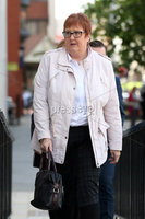 Press Eye - High Court Belfast - 5th October 2018. Photograph By Declan Roughan. Sarah Ewart\'s mother Jane Christie, arrives at the High Court in Belfast to uproot her daughters challenge against court rulings regarding Abortion Law in Northern Irelan..