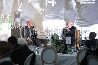 Press Eye - Belfast - Northern Ireland - 8th September 2018 - . Rory Best and Jim Neilly at the Archbishop's Palace in Armagh along with friends and family of Dr Rory Best OBE to witness the sportsman's conferment with the Freedom of the Borough of Armagh City, Banbridge and Craigavon..  . Photo by Kelvin Boyes / Press Eye..