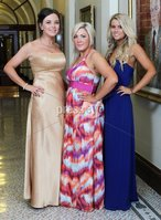 ©Press Eye Ltd Northern Ireland -24th April 2012. Mandatory Credit - Picture by Darren Kidd/Presseye.com .  Helping Hand Charity at City Hall.. Pictured are L-R Sarah Marley, Lisa McKim and Sarah Kennedy