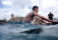 Press Eye - Belfast -  Northern Ireland - 31st May 2018 - Photo by William Cherry/Presseye. Northern Ireland\'s Paddy McNair in the pool during Thursday mornings recovery session at the team Hotel in San Jose, Costa Rica ahead of their International Friendly on the last leg of their Central America tour.. Photo by William Cherry/Presseye