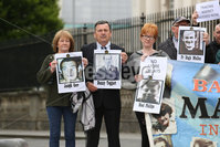 PressEye - Belfast - Northern Ireland - 13th June 2018. Ballymurphy Massacre families outside Belfast High Court.. Picture: Philip Magowan / PressEye