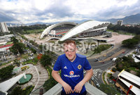Press Eye - Belfast -  Northern Ireland - 31st May 2018 - Photo by William Cherry/Presseye. Northern Ireland\'s Shayne Lavery at the team Hotel in San Jose, Costa Rica ahead of their International Friendly on the last leg of their Central America tour.. Photo by William Cherry/Presseye