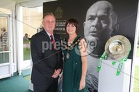 Press Eye - Belfast - Northern Ireland - 8th September 2018 - . Wayne and Julie Flaherty pictured at the Archbishop's Palace in Armagh along with friends and family of Dr Rory Best OBE to witness the sportsman's conferment with the Freedom of the Borough of Armagh City, Banbridge and Craigavon..  . Photo by Kelvin Boyes / Press Eye..