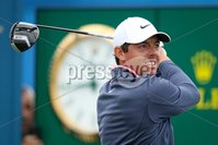 2018 Dubai Duty Free Irish Open, Ballyliffin Golf Club, Co. Donegal 8/7/2018. Rory McIlroy tees off the 10th hole . Mandatory Credit ©INPHO/Oisin Keniry