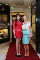 ©Press Eye Ltd Northern Ireland - 28th March 2012. Mandatory Credit - Picture by Darren Kidd/Presseye.com .  .  Jack Murphy Jewellers of Newry - Aisling Kearney and Catherine Madden