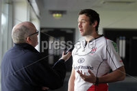 Press Eye - Belfast - Northern Ireland - Monday 30th April 2012 -  Picture by Kelvin Boyes / Press Eye.. Pedrie Wannenburg pictured at a press conference at Ravenhill following Ulster\'s Heineken Cup semi-final win over Edinburgh on Saturday and with confirmation that they will meet Leinster in the final at Twickenham on Saturday 19th May..