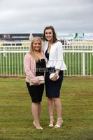 Press Eye - Belfast - Northern Ireland - 3rd November 2018 . Down Royal Festival of Racing - Day 2. Gemma Jardine and Katie McArragher pictured at Down Royal . Photo by Kelvin Boyes / Press Eye..