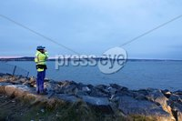 Press Eye - Belfast - Northern Ireland - 9th May 2012 . General view of a search operation ongoing in Belfast Lough after a woman and a baby fell into the water from a superfast Stena Line ferry making its way towards Belfast Port.. Picture by Press Eye