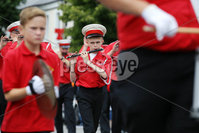 Press Eye - Belfast - Northern Ireland - 12th July 2018 . Members of Rising Sons of Down, Donaghadee on parade at the North Down \'Twelfth\' celebrations in Newtownards town centre, County Down.. Photo by Kelvin Boyes / Press Eye..