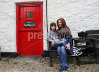 Press Eye - Belfast -  Northern Ireland - 18th May 2018 - Photo by William Cherry/Inpho/Presseye. Charlotte Caldwell and her 12 year old son Billy. pictured at their Castlederg home in Co Tyrone.. Last year Billy became the first in the UK to get legally-prescribed cannabis oil on the NHS for his severe epilepsy.