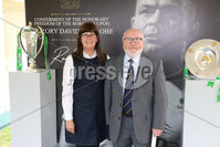 Press Eye - Belfast - Northern Ireland - 8th September 2018 - . George and Cindy MacCormac pictured at the Archbishop's Palace in Armagh along with friends and family of Dr Rory Best OBE to witness the sportsman's conferment with the Freedom of the Borough of Armagh City, Banbridge and Craigavon..  . Photo by Kelvin Boyes / Press Eye..