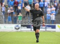 Danske Bank Premiership, Showgrounds, Coleraine 4/8/2018. Coleraine vs Warrenpoint. Referee Lee Tavinde. Mandatory Credit ©INPHO/Lorcan Doherty