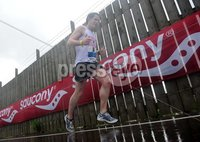 Press Eye - Belfast - Northern Ireland - 7th May 2012 . Saucony Mile at Duncrew on the latter stages of the Belfast Marathon. Picture By Declan Roughan / Press Eye