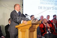 Press Eye - Belfast - Northern Ireland - 8th September 2018 - . Rory Best pictured at the Archbishop's Palace in Armagh along with friends and family of Dr Rory Best OBE to witness the sportsman's conferment with the Freedom of the Borough of Armagh City, Banbridge and Craigavon..  . Photo by Kelvin Boyes / Press Eye..