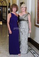 ©Press Eye Ltd Northern Ireland -24th April 2012. Mandatory Credit - Picture by Darren Kidd/Presseye.com .  Helping Hand Charity at City Hall.. Pictured are L-R Adrienne Morgan and Nichola Rooney