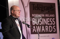 Press Eye - Belfast - Northern Ireland - Tuesday 24th April 2012 -  Picture by Kelvin Boyes / Press Eye.. 2012 Belfast Telegraph Northern Ireland Business Awards in association with bmi at the Ramada Hotel. Nick Leeson