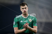 Press Eye - Belfast, Northern Ireland - 16th November 2019 - Photo by William Cherry/Presseye. Northern Ireland\'s Paddy McNair after Saturday nights UEFA Euro 2020 Qualifier at the National Stadium, Belfast.     Photo by William Cherry/Presseye