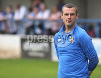 Danske Bank Premiership, Showgrounds, Coleraine 4/8/2018. Coleraine vs Warrenpoint. Coleraine manager Oran Kearney. Mandatory Credit ©INPHO/Lorcan Doherty