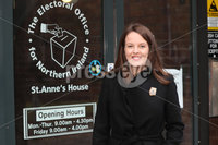 Press Eye - Alliance Party - Electoral Office NI - 12th November 2019. Photograph by Declan Roughan. Nuala Mc Allister.