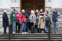 Press Eye - Historical Abuse Survivors - Court Of Appeal - 4th November 2019. Photograph by Declan Roughan. NI court of appeal rules civil servants can start compensation scheme for victims of historical abuse.. The court of appeal in Northern Ireland has ruled that the Executive Office has the power to bring forward a compensation scheme for victims of historical institutional abuse.. It follows a case brought by a survivor of historical abuse referred to in court as JR80 to see compensation payments made to victims in the absence of devolved ministers.. The ruling comes as Westminster considers legislation to introduce compensation payments before Parliament is dissolved on Tuesday ahead of the General Election..