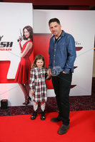 Press Eye - Belfast - Northern Ireland - 30th September 2018 - . Bradley and Aria Quinn pictured at Movie House Dublin Road for a special preview screening of upcoming comedy, JOHNNY ENGLISH STRIKES AGAIN, in cinemas across Northern Ireland from Friday 5th October.. Photo by Kelvin Boyes / Press Eye..