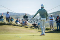 2018 Dubai Duty Free Irish Open - Day 1, Ballyliffin Golf Club, Co. Donegal 5/7/2018. Rory McIlroy dejected after a missed putt on the 17th green. Mandatory Credit ©INPHO/Oisin Keniry
