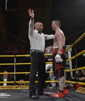 Press Eye - Belfast - Northern Ireland - 4th May 2012. Betfair Prizefighter Irish Middleweights Competition at The Kings Hall, Belfast. Former Unbeaten Welterweight Paul McCloskey v Former World Champion