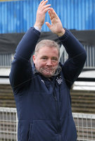 @Press Eye Ltd Northern Ireland -7th May    2012. Mandatory Credit - Brian Little/ Presseye.com. . Glasgow Rangers manager Ally McCoist after   a fundraising match on May Day at Windsor Park.