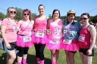 Northern Ireland- 27th May 2012 Mandatory Credit - Photo-Jonathan Porter/Presseye.  Cancer Research UK 5K Race For Life at the Stormont Estate in east Belfast.  Left to right. Becky Boyd, Emma Ervine, Tanya Loughlin, Tammy McKee, Barbara Burgess and Christina Knox from Carrickfergus.