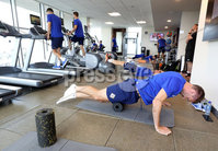 Press Eye - Belfast -  Northern Ireland - 31st May 2018 - Photo by William Cherry/Presseye. Northern Ireland\'s Gareth McAuley during Thursday mornings recovery session at the team Hotel in San Jose, Costa Rica ahead of the International Friendly on the last leg of their tour of Central America.. Photo by William Cherry/Presseye