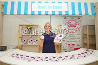 Press Eye - Belfast - Northern Ireland - 16th May 2019. Second day of the Balmoral Show, in partnership with Ulster Bank.  Pictured at Balmoral Park, outside Lisburn, is Anita McCann with her business Rossi\'s Ice Cream.  Ulster Bank has provided space in its market at Balmoral Show to entrepreneurs from Ulster Bank\'s Entrepreneur Accelerator programme as well as small business customers. . Picture by Jonathan Porter/PressEye