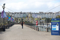 Press Eye - Belfast - Northern Ireland - 30th March 2020 - . General view of Bangor Marina in County Down, Northern Ireland.. Photo by Kelvin Boyes / Press Eye..
