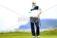 ©Press Eye Ltd Northern Ireland -29th June 2012. Mandatory Credit - Picture by Darren Kidd/Presseye.com .  . 2012 Irish Open Pro Am at Royal Portrush..  Day 2 - Simon Dyson on the 5th