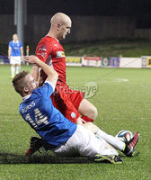 @Press Eye Ltd Northern Ireland- 2nd September 2014. Mandatory Credit -Brian Little/Presseye . Cliftonville Ryan Catney     and Linfield  Aaron Burns      during Tuesday night\'s Danske Bank Premiership match at Solitude.. Picture by Brian Little/Presseye .  . . . .  . . . . .  . . .  . . . . . . . . . . . . . . . . . . . .  . . . . . . .   . . . . .  . . . . .  . .                  . . . . . . . . . . . . . . . .  . . .                   . .    .  . . . . . . . . . . . .  . . . .  . .  . . . . . . . . . . . . . . . . . . . . . . . . . . . . . . . . . . . . . . . . . . . . . . . . . . . . . . . . . . . . . . . . . . . . . . . . . . . . . . . . . . . . . . . .  . . . . . . . . . . . .