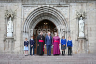 . Press Eye - Belfast - Northern Ireland - 22nd May 2019 - . The Prince of Wales is pictured at St Patrick\'s Cathedral, Armagh during his 2 day visit to Northern Ireland. . Picture Matt Mackey / Press Eye.