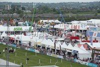PressEye-Northern Ireland- 15th May  2019-Picture by Brian Little/PressEye. General views. of  Balmoral Park during the first day of the Balmoral Show 2019. Picture by Brian Little/PressEye