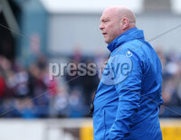 Danske Bank Premiership, The Ballymena Showgrounds, Co. Antrim 14/4/2018 . Coleraine vs Ballymena United.. Ballymena manager David Jeffrey. Mandatory Credit ©INPHO/Jonathan Porter